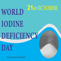 Global Iodine Deficiency Disorders Prevention Day